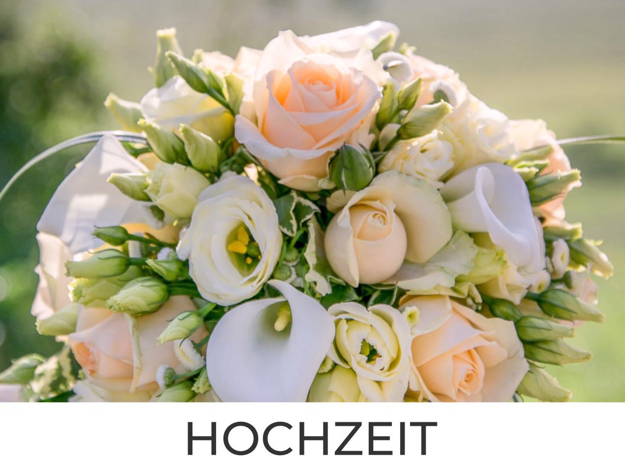 Hochzeitsblumenstrauß