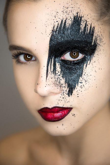 Eye - kreatives Portraitfoto - Ringlicht