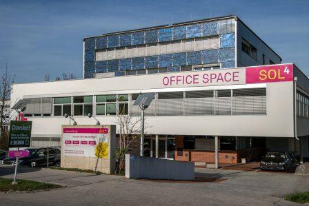 Aussenaufnahme Sol4 Office Space mödling
