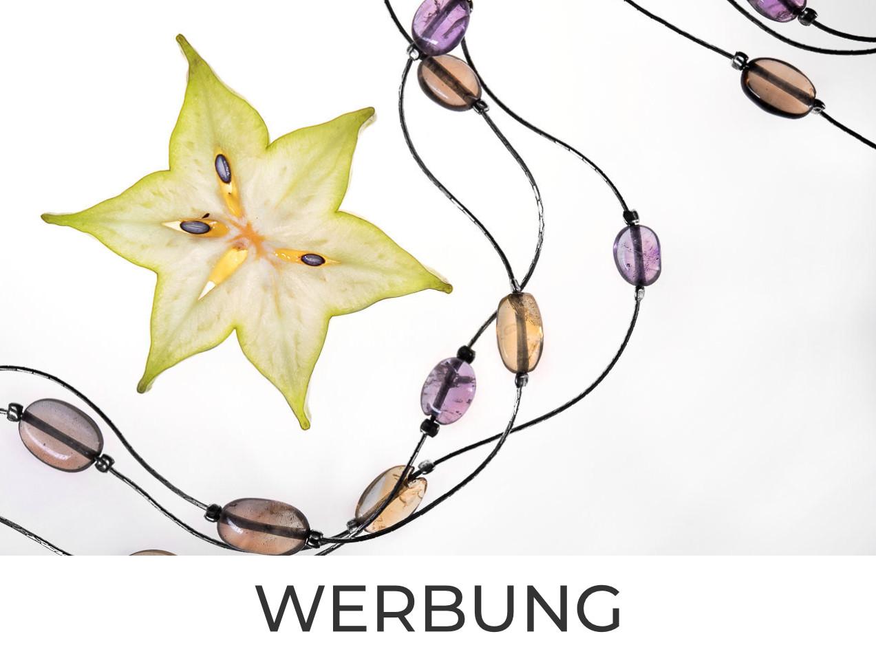 Sternfrucht und Halskette
