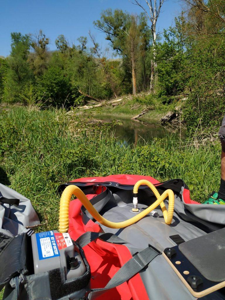 Vorbereitungen zur Bootstour