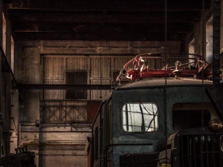 elekrifizierte historische lok