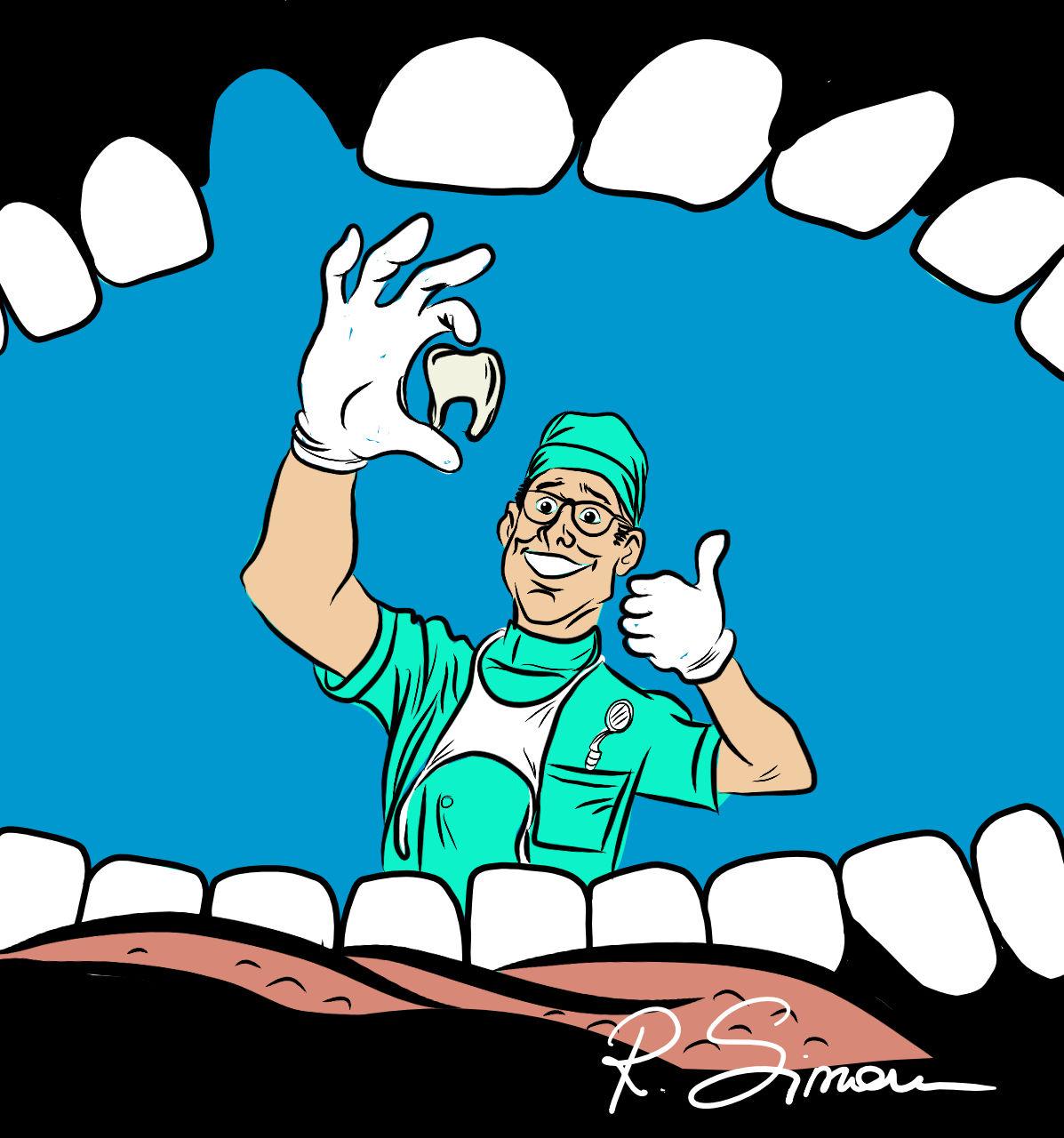 Zahnarzt by Raphaela Simon