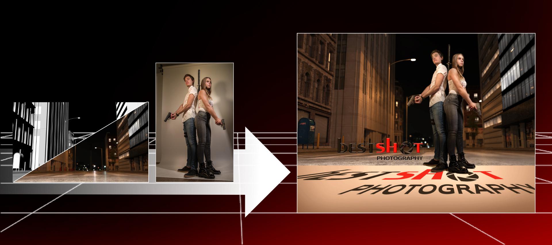 Fotomontage Composing Bestshot-Photography